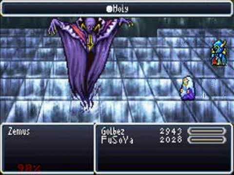Final Fantasy 4 - Boss#36 - Zemus