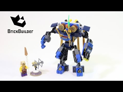 Lego Ninjago 70754 ElectroMech - Lego Speed build