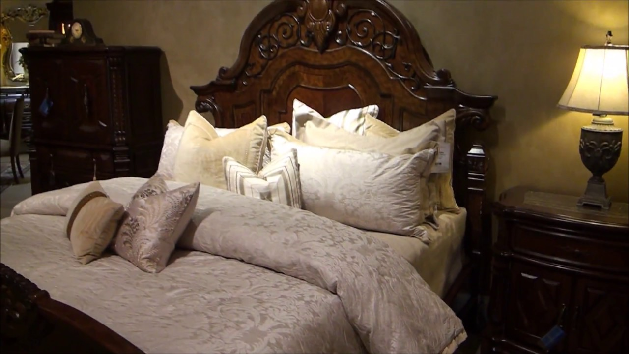 Windsor Court Bedroom Set By Michael Amini Youtube