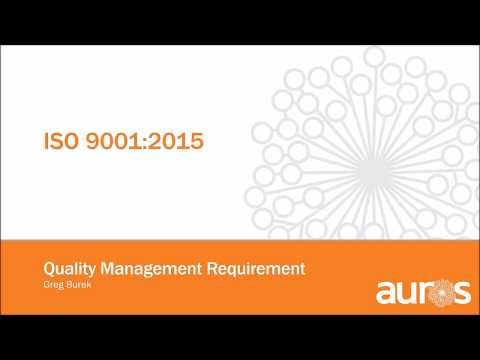ISO 9001:2015 - Quality Management Requirement