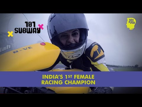 Alisha Abdullah - India's 1st Female Superbike Champion