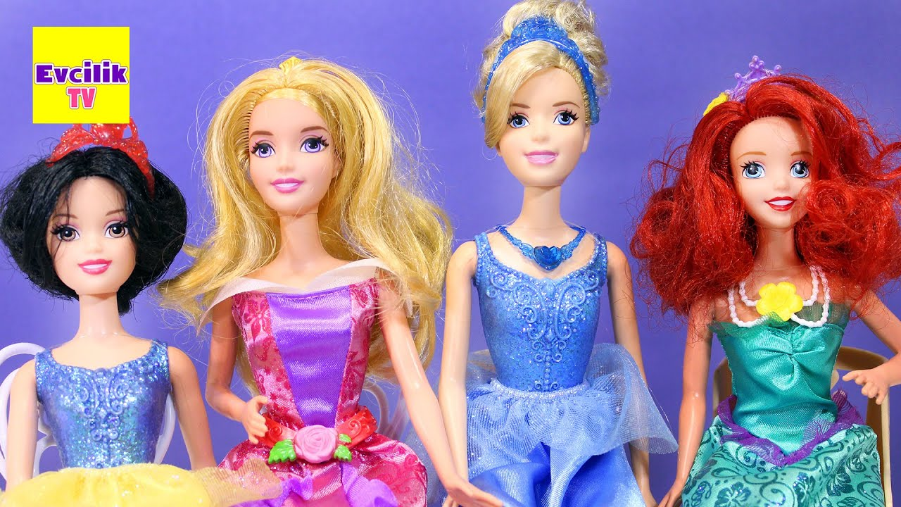 Barbie Prensesler Balede Pamuk Prenses Cinderella
