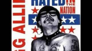 GG Allin - I Wanna Fuck Myself (1998)