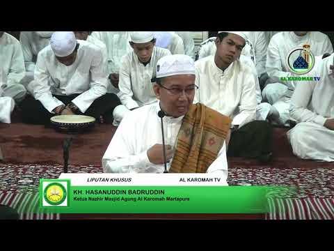 AL KAROMAH TV - CERAMAH KH. HASANUDDIN ACARA KHOTMUL QUR'AN DI MASJID AGUNG AL KAROMAH MARTAPURA