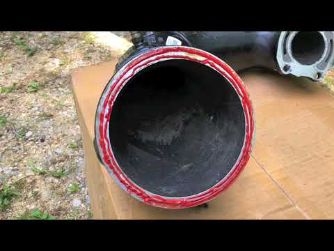 How to replace jet ski Exhaust Manifold pipe - FAST & EASY!
