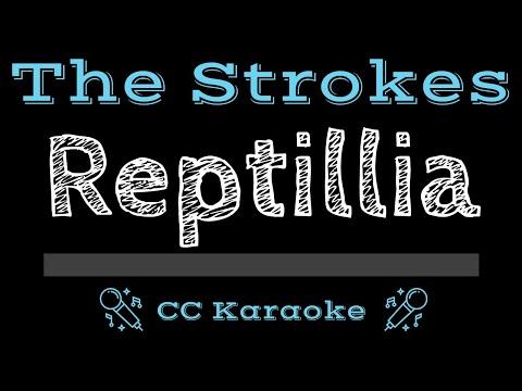 The Strokes   Reptilia CC Karaoke Instrumental