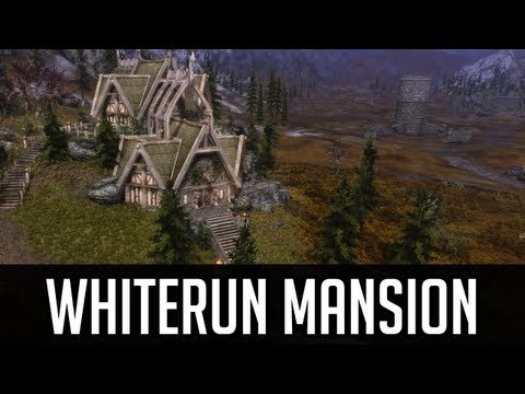 Skyrim Mods - Whiterun Mansion (Amazing House Mod)