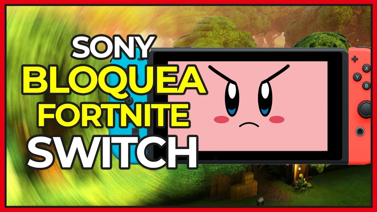 Error Al Iniciar Sesion En Fortnite Para Nintendo Switch Sony