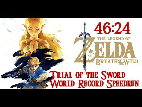 Trial of the Sword World Record Speedrun in 46:24 (07/03/2017)