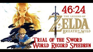 Trial of the Sword World Record Speedrun in 46:24