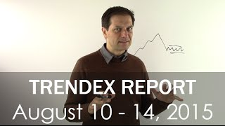 Trendex Report Aug 14: Investors adjusting to their new environment