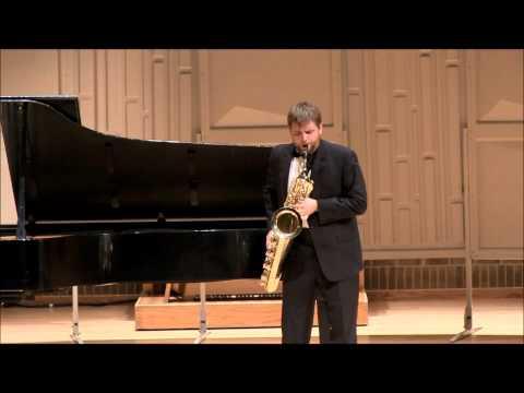 Rhapsody for Baritone Sax--by Mark Watters.
