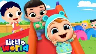 Run Baby John Run | Exercise Song | Little World Kids Songs & Nursery Rhymes