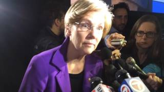 WATCH: Sen. Warren Defends John Lewis From Trump
