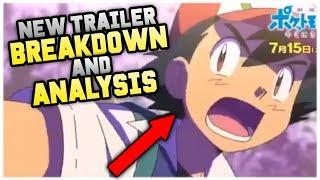 Pokémon The Movie 20: I Choose You! NEW TRAILER Breakdown And Analysis