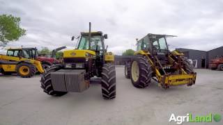 Moffett MFT (New Holland 7740) tractors/loaders (2017)