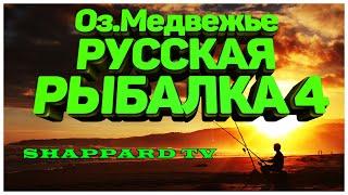 Русская рыбалка 4 Озеро Медвежье НАЖИВКИ И БЛЕСНА