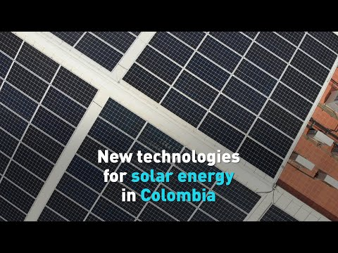 New technologies for solar energy in Colombia