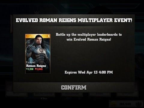 WWE Immortals Evolved Roman Reigns Event! + Gold Pack Opening