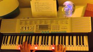 How to Play ~ Besame Mucho ~ LetterNotePlayer ©