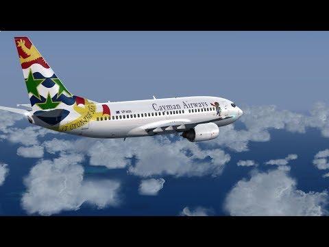 Prepar3D v4 Cayman Airways 737|Owen Roberts to Norman Manley + VATSIM