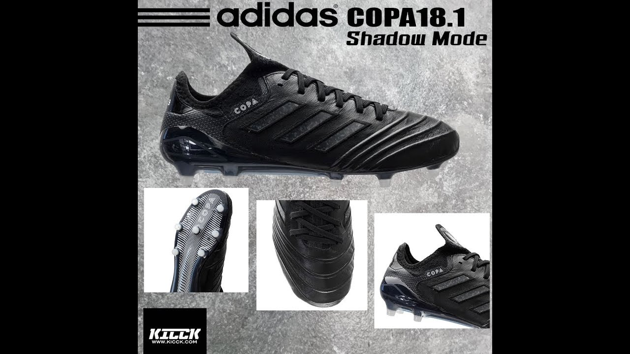 f9e63932898 Review adidas Copa 18.1 FG Shadow Mode Pack (Thai Version)