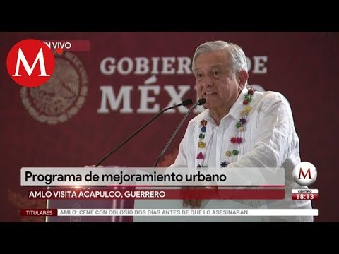 AMLO anuncia programa de mejoramiento urbano en Guerrero