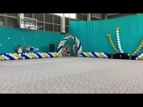 Самая маленькая гимнастка на турнире по художественной гимнастике «Шаг к Победе» 08.06.2019
