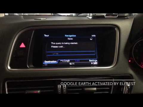 Audi Q5 Google Earth and Post Code Search