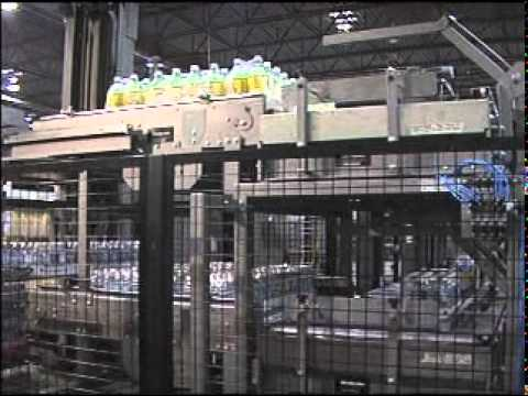 Multi-Line Shuttle-Car Palletizer System - Priority One, Arrowhead Systems
