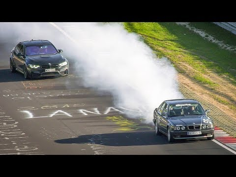 Nordschleife Highlights, CRASH, Spin & Lots of Smoke - 21 04 2019 Touristenfahrten Nürburgring