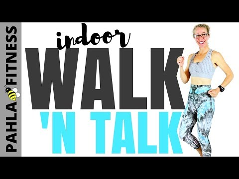 INDOOR WALK with Pahla B | 10 Minute WALKING Workout | How Many Calories are you REALLY Burning?