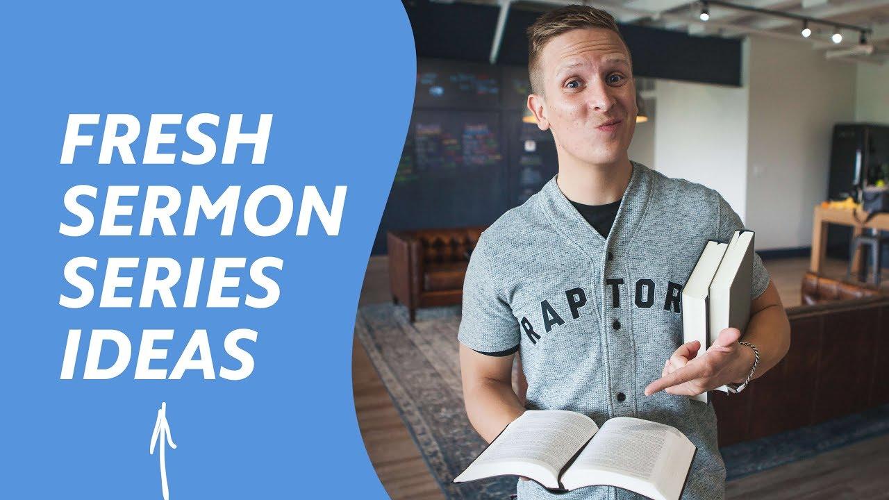 12 Innovative Sermon Series Ideas (Plus   FREE Downloadable Sermon