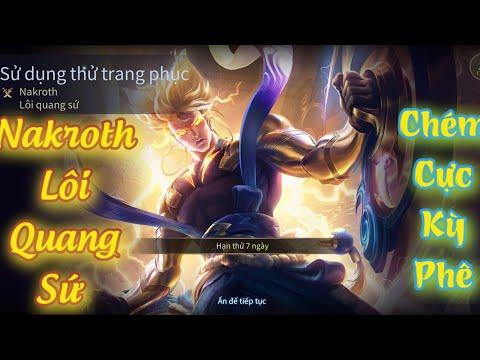 Nakroth Lôi Quang Sứ - Trang Phục Mới Ra Mắt