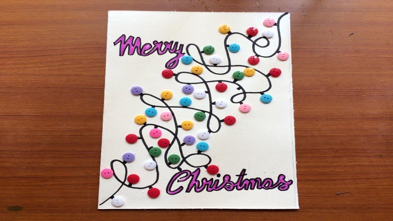 christmas greeting card handmade ideas 2018new year