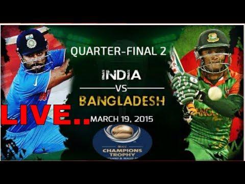 India Vs Bangladesh 2nd Semi- Final - LIVE SCORE /ICC Champions Trophy, 2017 LIVE