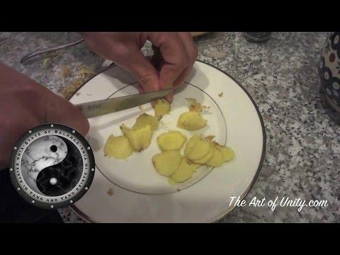 How to Make Ginger & Turmeric Tea - Healthy Tea Benefits - Part 2