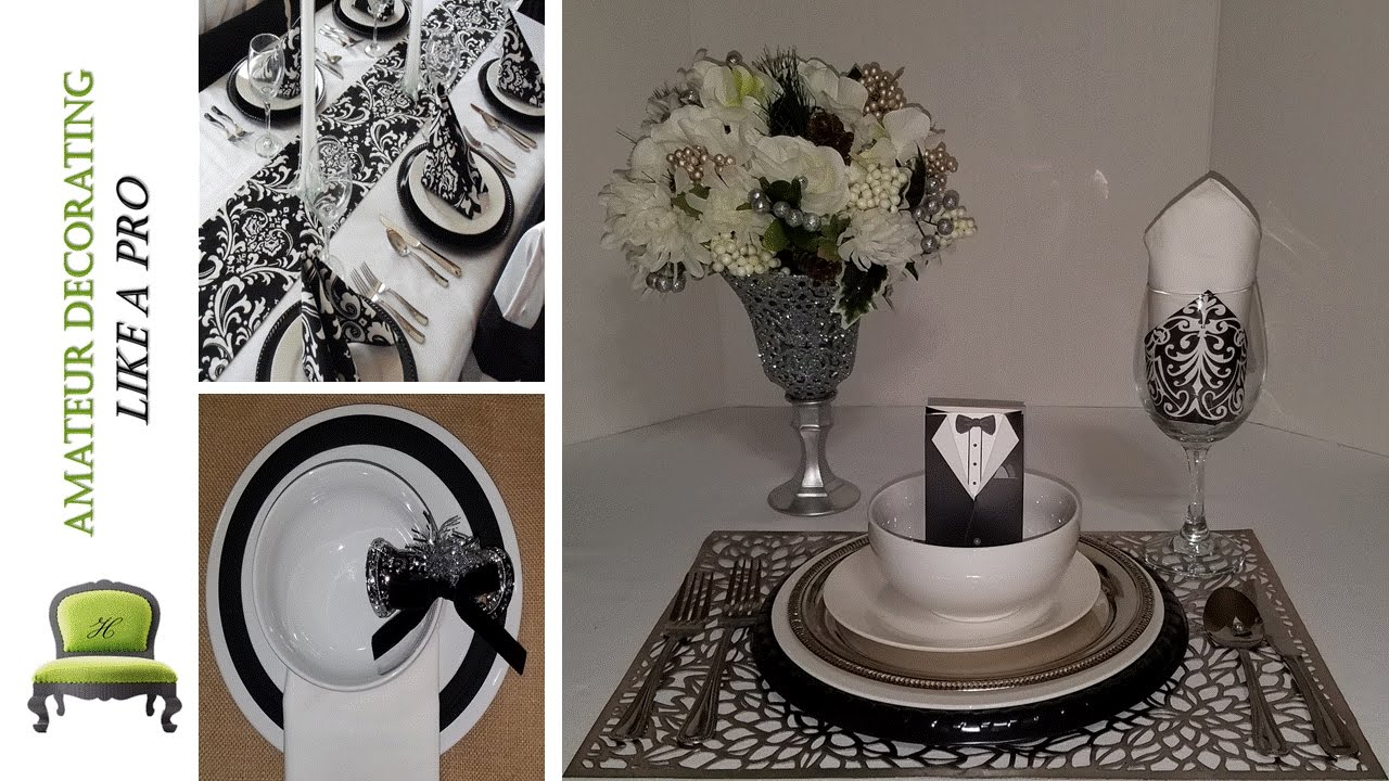 DIY Dollar Tree Place Settings And Centerpieces Haves VS
