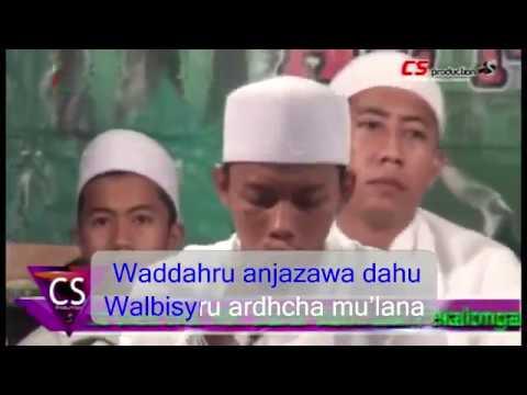 Al Munsyidin _ Busyrolana + Lirik Latin