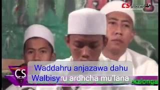 Al Munsyidin _ Busyrolana Lirik Latin