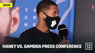 Devin Haney vs. Yuriorkis Gamboa Final Press Conference