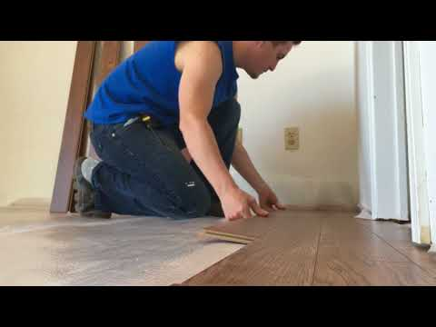 Replace Carpet with Laminate flooring - Entire Process and details