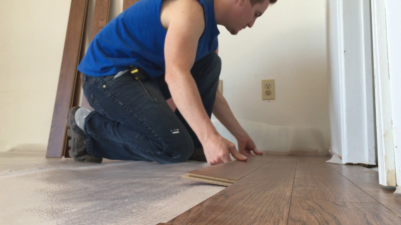 replace carpet with laminate flooring entire process and details