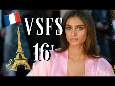 Taylor Hill in the Victorias Secret 2016 Fashion Show in Paris with Bonus Footage