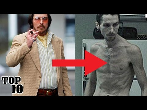 Top 10 Most Shocking Celebrity Weight Loss Transformations