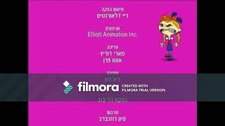 Bunsen is a Beast, Credits (HEBREW)