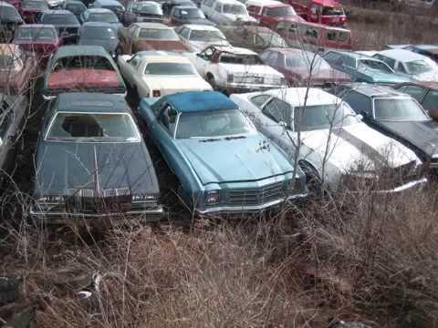 Demolition Derby Car Graveyard Youtube