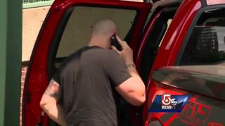 Exclusive video: Gomes, Lester arrive at Fenway Park following trade