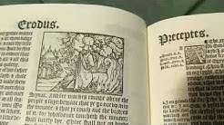 AMAZING! First impressions of the 1537 Edition of the Matthews Bible