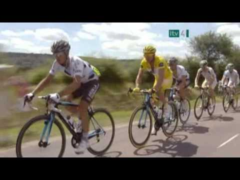 2009 Tour de France Stage 12 Highlights